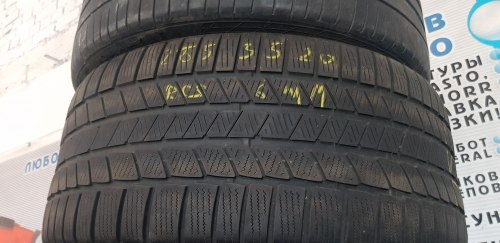 Одна шина 285/35R20 Continental TS810s