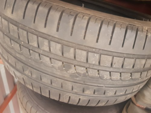 Одна шина 245 40 R18 Pirelli PZero Rosso 6 мм