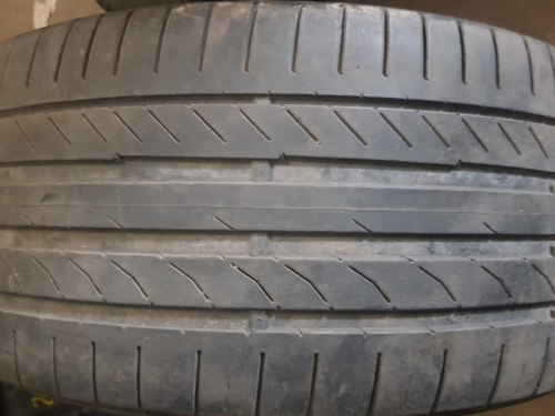 Одна шина 245/40 R20 Continental Conti Sport Contact 5 4,5 мм