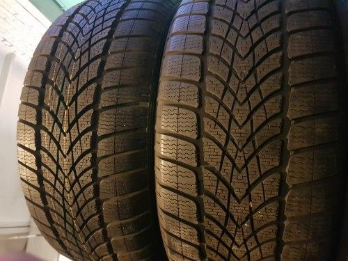 Пара шин 255/50 r19 Dunlop SP Winter Sport 4D состояние новых