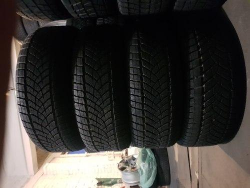 Комплект шин 265/60 R18 Goodyear UltraGrip Ice SUV Gen 1 состояние новых 9 мм