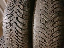 Пара шин 225/60 R16 Michelin Alpin pa4 5 мм