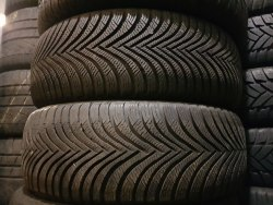 Пара шин 225/55 R16 Michelin Alpin A5 состояние новых одно колесо после ремонта