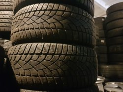 Пара шин 245/45 r19 Dunlop SP winter Sport 3D 5 мм