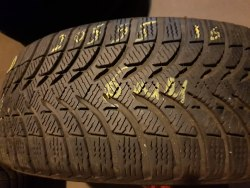 Одна шина 205/55 R16 Michelin Alpin A4 6 мм