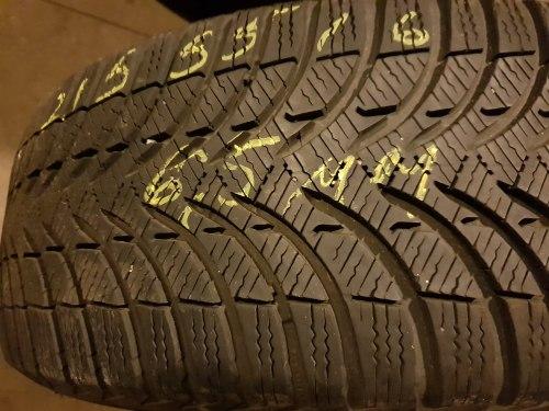 Одна шина 215 55 R16 Michelin Alpin A4 6,5 мм