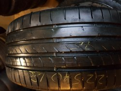 Одна шина 225/40 R18 Goodyear Eagle F1 asymmetric 2 7,5 мм