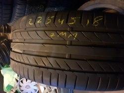 Одна шина 225/45 R18 Continental Contisportcontact 5 7мм