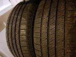 Пара шин 245/50 R18 Bridgestone Turanza er42 m+s состояние новых