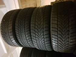 Комплект шин 245/50 R18 Dunlop Winter Sport 4D 6,5 mm 7 мм