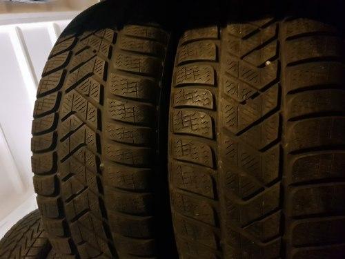 Пара шин 225/55 R17 Pirelli Sottozero 3 rst 6мм