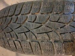 Одна шина 185/65 R15 Dunlop Winter Sport 3D 7мм