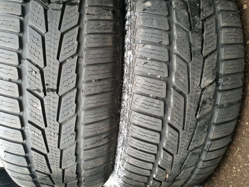 Пара шин 215/55 R17 Semperit Speed-grip 6 мм