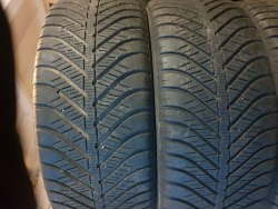 Пара шин 225/50 R17 Goodyear Vector for Seasons 7 мм