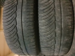 Пара шин 245/55 R17 Michelin Pilot alpin pa4 5мм мм
