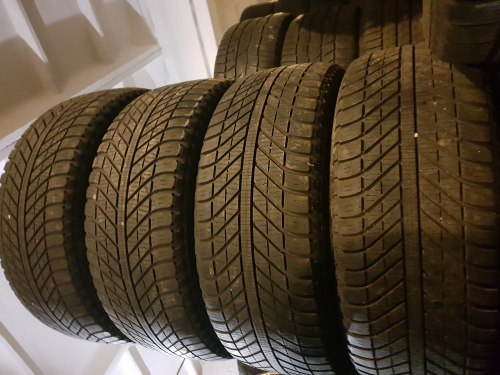 Комплект шин 235/55 R17 Goodyear Vector 4seasons 6 мм