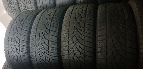 Комплект шин 235/55 R17 Dunlop Winter Sport 3D 6мм