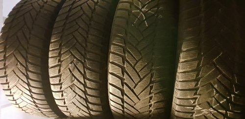 Комплект шин 245 55 R17 Dunlop Winter Sport M3 7 мм