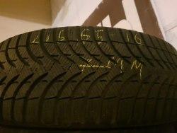 Одна шина 215 65 R16 Michelin Альпин A4 7 мм