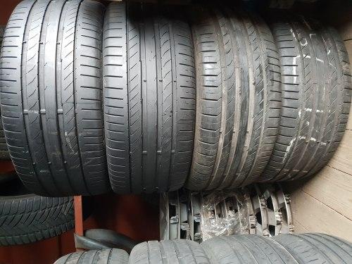 Комплект шин 245 45 17 Continental Contisportcontact 5 7 мм 6мм