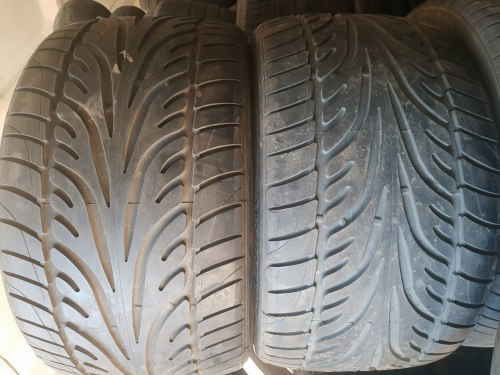 Пара шин 305 25 zr19 Dunlop 7 мм тестовая