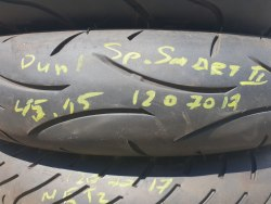 Мотошина 120/70 zr17 Dunlop SP Sport Smart 2 .45 нед.15 год
