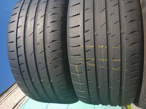 Пара шин 245 40 R18 Continental Contisportcontact 3 5,5 мм