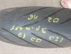 Мотошина 120/70 zr17 Dunlop SportMAX d222 ф 2 неделя 16 год 5% износа