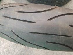 Мотошина 120/70 zr17 Michelin Pilot Power состояние новой 8 неделя 17 год