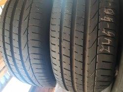 Пара шин 245/35 zR20 Pirelli PZero состояние новых 46. Нед. 15г