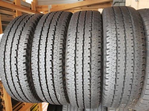 Комплект шин 215 75 r16c Michelin Agilis 101 состояние новых