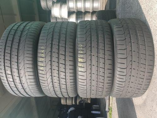 Пара шин 285/35 R20 Pirelli P Zero состояние новых