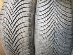 Пара шин 215 65 R17 Michelin Альпин 5 состояние новых