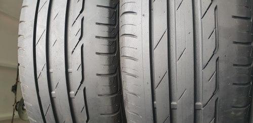 Пара шин 205/60 R16 Bridgestone Turanza t001 6мм