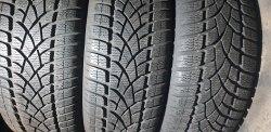 Комплект шин 205 55 R16 Dunlop SP Winter Sport 3D состояние новых