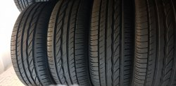 Комплект шин 205 45 r16 Bridgestone Turanza er300 мягкая состояние новой