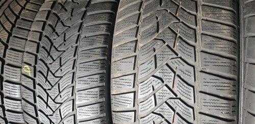 Пара шин 205 50 R17 Dunlop Winter Sport 5 6 мм
