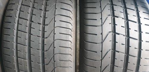 Пара шин 275 35 zr19 (100Y) Pirelli P Zero (J) состояние новых на пупурышках