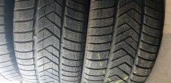 Пара шин 255/50 r19 Pirelli Sottozero 3 6.5 мм