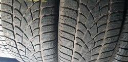 Пара шин 255/45 R20 Dunlop Winter Sport 3D 6мм