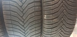 Пара шин 215 55 R16 Michelin CrossClimate Total performance 7 мм