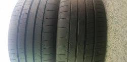 Пара шин 245 35 zR18 Michelin Pilot Super Sport состояние новой