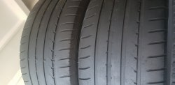 Пара шин 255 40 R18 95Y Goodyear Efficientgrip RunFlat 6мм