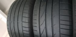Пара шин 265 40 zr18 Bridgestone Potenza re050a 5,5 мм