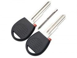 Ключ с местом под чип (заготовка) Chevrolet Правое лезвие