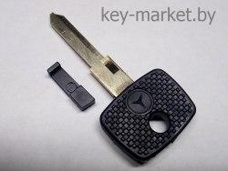 Ключ с местом под чип (заготовка) Mercedes
