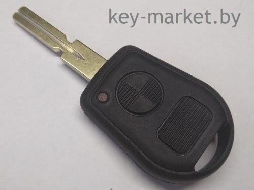 Ключ (корпус) BMW E34 2 кнопки