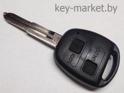Ключ (корпус) Toyota Yaris 2 кнопки