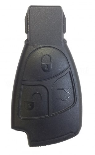 Ключ Mercedes 3 кнопки Европа