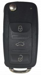 Ключ Audi A8 D3 выкидной 3 кнопки